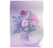 Flower in a Vase Poster
