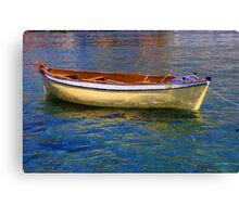 Summer Boat Canvas Print