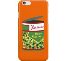 Wet Hot Mixed Vegetables iPhone Case/Skin