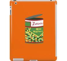 Wet Hot Mixed Vegetables iPad Case/Skin