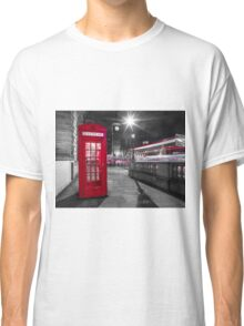 Telephone Booth with Big Ben Classic T-Shirt