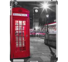 Telephone Booth with Big Ben iPad Case/Skin