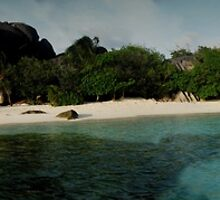 Anse Source d'Argent wide by andreaminerdo