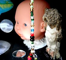 Black Box With Noose of Beads and Big Baby  by PeopleInMyHead