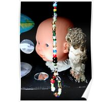 Black Box With Noose of Beads and Big Baby  Poster