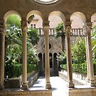 Monastery courtyard garden. by machka