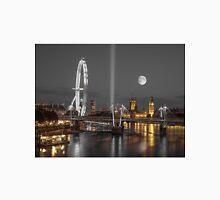 London Cityscape at night Unisex T-Shirt