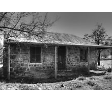 Miners Cottage- Hill End Photographic Print