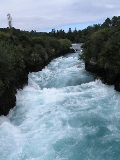 Huka Falls by Jade Thorby