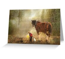 The Seeds We Sow Greeting Card