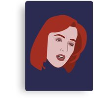Scully's Skull Canvas Print