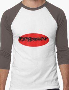 dEBASER Men's Baseball ¾ T-Shirt