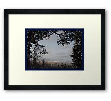 Winter Framed Framed Print