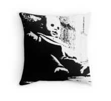 Scary Baby Throw Pillow