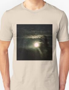 Moon Shine Through  Unisex T-Shirt