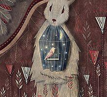 chaising rabbit by tomashevskaya