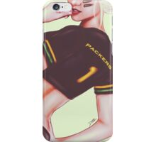 Score! Packers iPhone Case/Skin