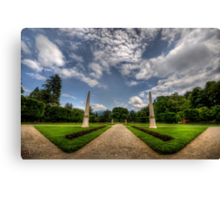 "Garden of ""W"" Canvas Print"