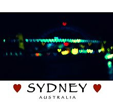 I LOVE SYDNEY AUSTRALIA by Tony Peri