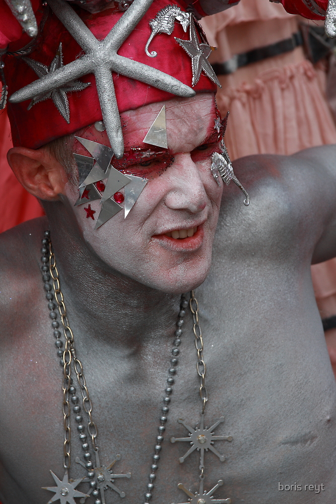 Portraits from The 2011 Coney Island Mermaid Parade-6  by boris reyt