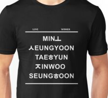 love winner /black Unisex T-Shirt