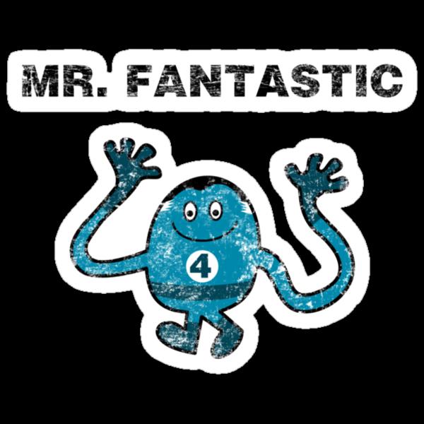 Mr Fantastic by robotrobotROBOT