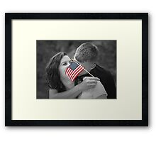 His passions Framed Print