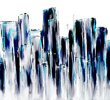 NYC Winter Light by Marc  Adiutori