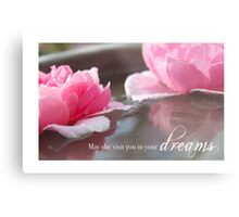 May She Visit You In Your Dreams Metal Print