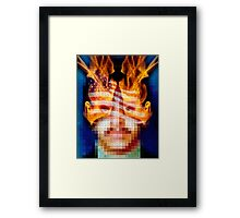 Character Identity Search Framed Print