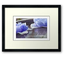May He Visit You In Your Dreams Framed Print