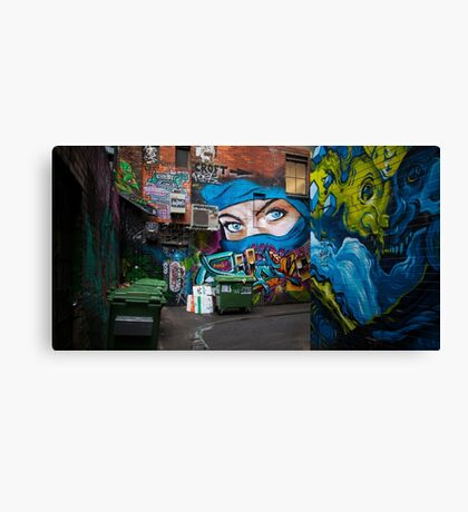 Croft Alley Canvas Print