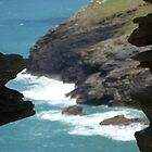 tintagel castle by BenDevenish