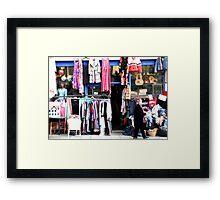 Shop In Bath Framed Print