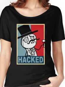 Hacked by LulzSec Women's Relaxed Fit T-Shirt