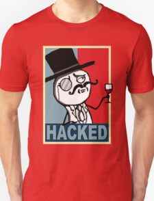 Hacked by LulzSec Unisex T-Shirt