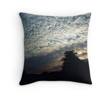 Hilltown sunrise Throw Pillow
