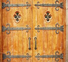 Church Doors by angelandspot