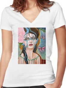 Demeter tee Women's Fitted V-Neck T-Shirt