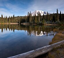 Rainier Dawn by mikereid