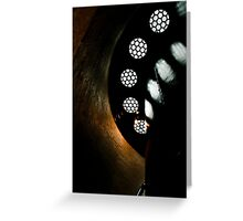 cape meares spiral Greeting Card