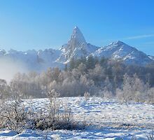 Winter mood in Norway-II by Frank Olsen