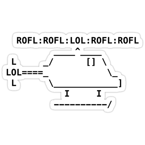 ROFLcopter by deadlyfingers