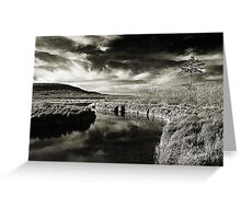 Sunset on the Blackwater River in West Virginia Greeting Card