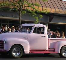 1951 Chevrolet series 3100 deluxe pickup truck by DonnaMoore