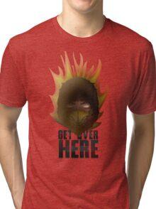MORTAL KOMBAT X - SCORPION Tri-blend T-Shirt