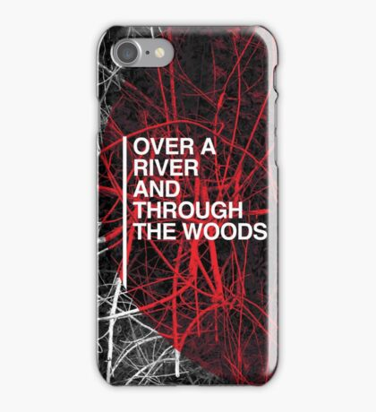 Over A River iPhone Case/Skin