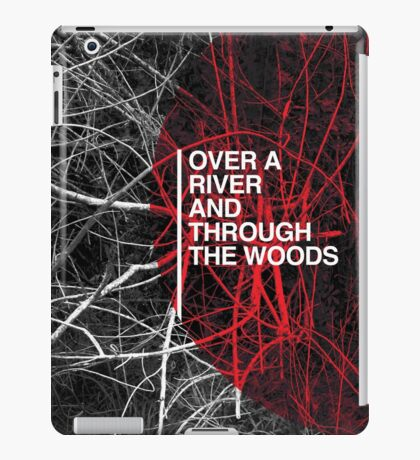 Over A River iPad Case/Skin