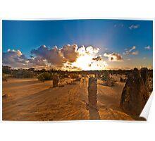 Nambung National Park Pinnacles 3 Poster