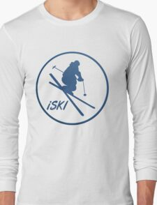iSKI framed Long Sleeve T-Shirt